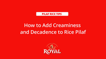 Pilaf Rice: How to Add Creaminess