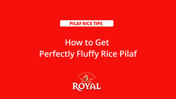 Pilaf Rice: How to Get Fluffy Rice