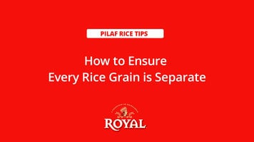 Pilaf Rice: How to Separate Grains