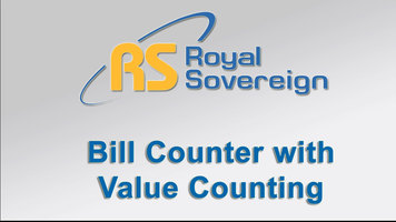 Royal Sovereign RBC-4500 Electric Bill Counter with Value Counting