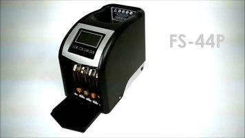 Royal Sovereign FS-44P Electric Four Row Coin Sorter