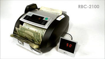 Royal Sovereign RBC-2100 High Speed Bill Counter with Counterfeit Protection