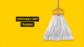 Rubbermaid Disposable Mops