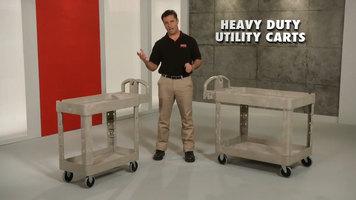 Rubbermaid Heavy Duty Carts