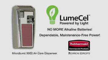Rubbermaid LumeCel Microburst 3000 Air Care Dispenser