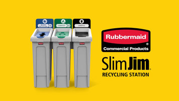 Rubbermaid Commercial Products: Slim Jim Recycling Station