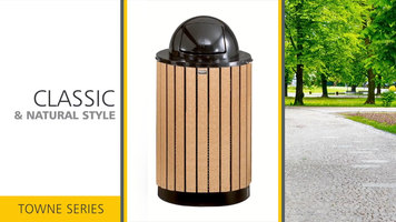 Rubbermaid Towne Series Waste Receptacles