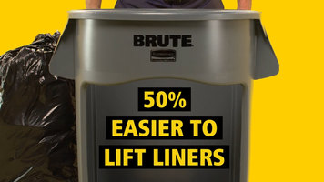 Rubbermaid Brute Vented Trash Can Features