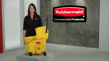 Rubbermaid WaveBrake Mop Bucket Overview