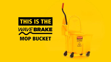 Rubbermaid WaveBrake Mop Bucket