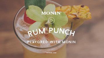 Rum Punch by Monin