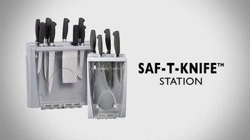 San Jamar Saf-T-Knife Station and Saf-T-Knife Station Jr.