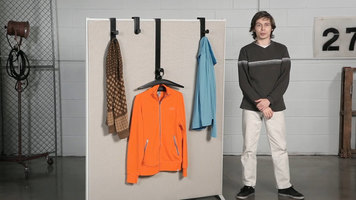 Safco Plastic Coat Hooks