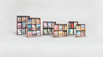 Safco Expose Literature Displays