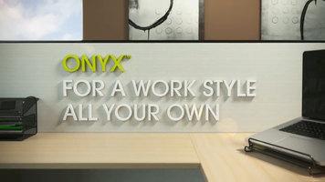 Safco Onyx Desktop Organization