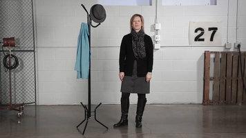 Safco Six-Hook Costumer Coat Rack