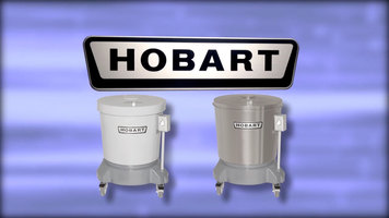 Hobart SDPE and SDPS Salad Dryers