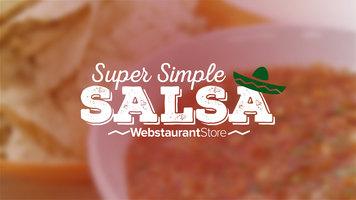 Super Simple Salsa