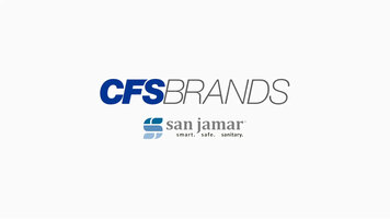 Sanitation; More Important Than Ever - CFS Brands