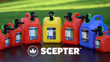 Introducing the Scepter SmartControl® Gas Can with Flame Mitigation Device