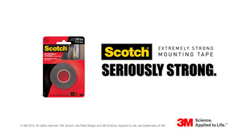 Scotch Extremely Strong Mounting Tape