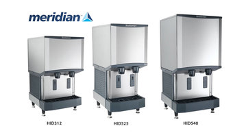 Scotsman Meridian Ice and Water Dispensers