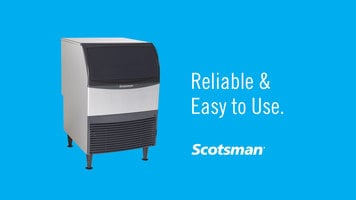 Scotsman Flake Nugget Undercounter Ice Machines: Reliability