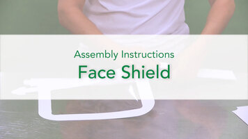 Southern Champion Tray: Face Shield Instructional Video