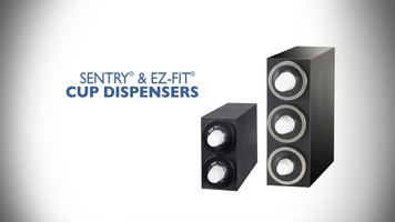 San Jamar Sentry and EZ-Fit Cup Dispensers