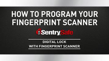 Sentry Safe: How to Program Your Fingerprint