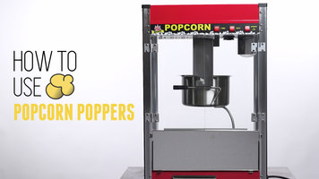 How to Operate a Carnival King Royalty Series Popcorn Popper