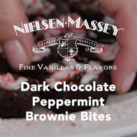 Nielsen-Massey Dark Chocolate Peppermint Brownie Bites