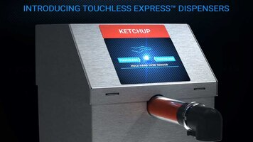NEW Touchless Express Condiment Dispensers