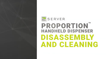 How to Disassemble and Clean Server's ProPortion Handheld Dispenser