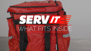 "What Fits Inside a 13"" x 13"" x 15 1/2"" ServIt Insulated Food Delivery Bag?"