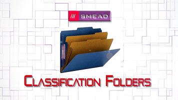Smead Classification Folders