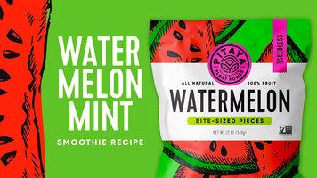 Watermelon Mint Smoothie Recipe