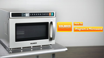 Solwave Space Saver Heavy-Duty Microwaves: How to Program