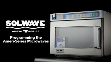 How to Use the Solwave Ameri-Series Heavy-Duty Microwaves
