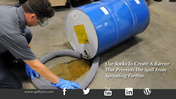 Spilfyter Absorbent Socks and Pads