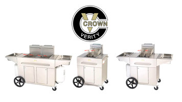 Crown Verity Quality Stainless Steel BBQ Grills