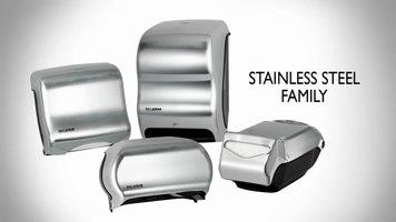 San Jamar Stainless Steel Family