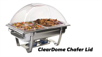 Sterno Products ClearDome Chafer Lid