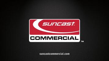 Suncast Commercial Slim Trash Can