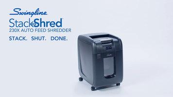 Swingline 230X Stack and Shred Shredder