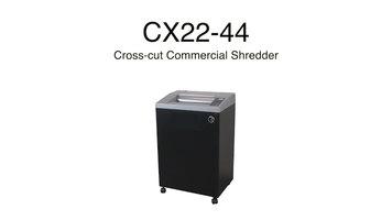 Swingline: CX22-44 Cross-Cut Shredder