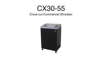 Swingline: CX30-55 Cross-Cut Shredder