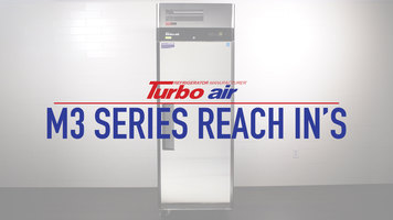 Turbo Air M3 Series Reach In Refrigerators