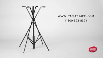 TableCraft Folding Tray Stand