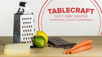 TableCraft Soft Grip 6 Sided Grater